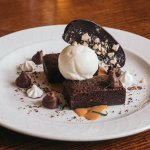Sticky toffee pudding at the Windermere Restaurant