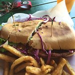 Chicken Milanese Cuban Sandwich - YUM