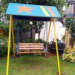 Swing in the Garden Area