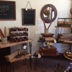 Locally hand-crafted items available.