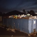 Watch the sun rise over Mt Trash more at Pecan Park Rv Jacksonville