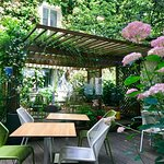 jardin pour petit déjeuner