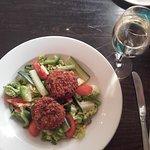 Fish Cakes Salad