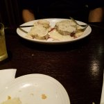 Filet with gorgonzola.