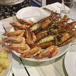 Tigerprawns and lobster - Grilled