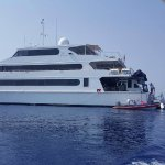The Yacht which goes for 3/4 night dive trips