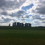 We lucked out with beautiful weather and skies at Stonehenge