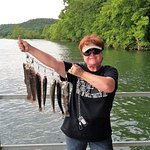 Keep your wife happy. Take her fishing.