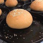 preparazione panini per fishburger