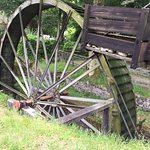 The largest working water wheel in the country
