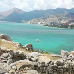 View from the top of Spinalonga