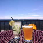 Refreshing drinks on a beautiful summer day!
