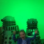 The Daleks in the sci fi room