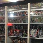 Sci fi room display
