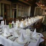 auch für große Gruppen geeignet, beispielsweise ein herausragender Ort für Hochzeitsessen