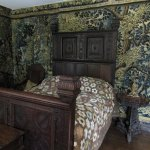 Upstairs bedroom which hasn't changed in centuries
