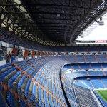 El estadio de Real Madrid, muy cercano al hotel.-