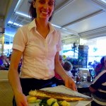 great fresh fish served with a smile