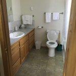 Huge clean bathroom