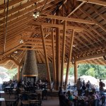 Interior of the Safari Dining - very cool on a very hot day, too.