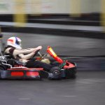High speed go-karts.