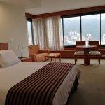 esta habitacion superior esta ubicada en los pisos mas altos del hotel y tiene una panoramica