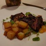 Skirt steak at Bottega