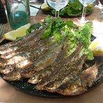 sardines salade vinaigre balsamique sur poele