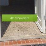 Nasty OLD shag carpet