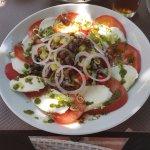 Superbe salade Mozza !!!