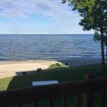 Balcony view of Lake Michigan