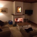 Cosy night in at Cartwheel cottage. Perfect!