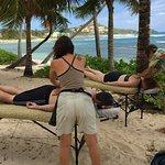 Fantastic massage in a beautiful location!