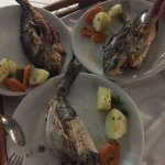 The best fish I ever taste . Food and service super . If you care about the taste of the food th