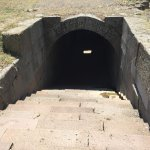 Entrance to an underground passage
