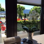 Windows Restaurant at Hotel d'Angleterre Foto