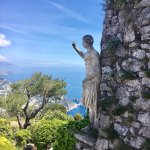 Gorgeous statue and view