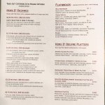 New Take Out Catering Menu for your parties!   Call & set up a meeting with Eliza