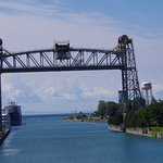 Time to exit Canal into Lake Erie