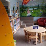 Travelling with little ones? We have a  great selection and a delightful space to enjoy!