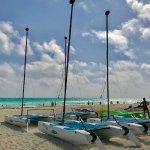 Catamarans at the resort!