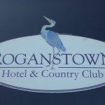 Roganstown Hotel Log (on hotel van)