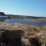 One of the larger tide pools