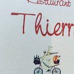 Vous ne serez pas décus par les saveurs de la cuisine de Thierry