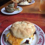 Brisket Breakfast Sandwich