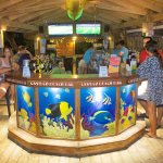 Cayuco Beach Bar at night a great place to enjoy the sunsets. Enjoy a Rum-punch or a   MonkeyLaL