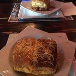 our two pancake lasagnas