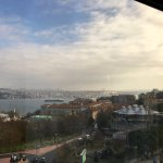 View of Bosphorus Strait from our room