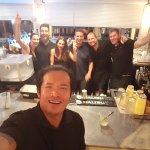 The amazing bar staff!