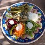 vegetales frescos, colores inigualables, aroma y sabor indescriptible